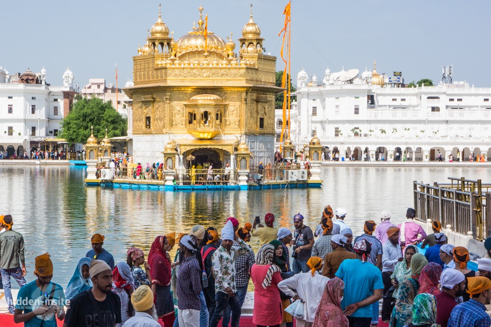 short history of golden temple
